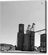 Grain Processing Facility In Shirley Illinois 2 Acrylic Print