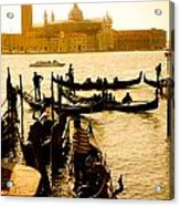 Grand Canal At Sunset - Venice Acrylic Print