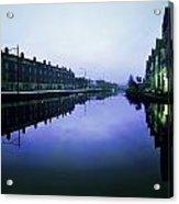 Grand Canal, Portobello, Dublin, Co Acrylic Print