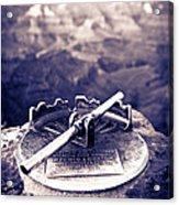 Grand Canyon - Sight Tube Acrylic Print