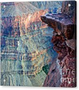 Grand Canyon A Place To Stand Acrylic Print