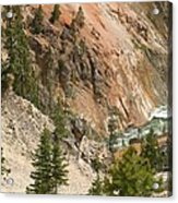 Grand Canyon And Yellowstone River Acrylic Print
