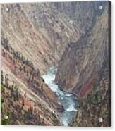 Grand Canyon At Yellowstone Acrylic Print