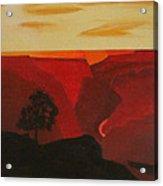 Grand Canyon Contemporary 1 Acrylic Print