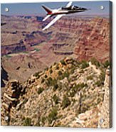 Grand Canyon Fly By-1 Acrylic Print