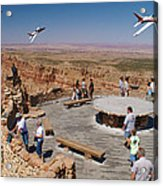 Grand Canyon Fly By-2 Acrylic Print