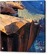 Grand Canyon Into Space Acrylic Print