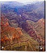 Grand Canyon Morning Scenic View Acrylic Print