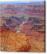 Grand Canyon Nationa Park Painting Acrylic Print