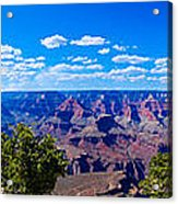 Grand Canyon Panorama White Acrylic Print