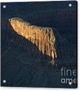 Grand Canyon Point Of Light Acrylic Print
