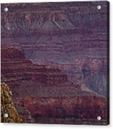 Grand Canyon Ridges Acrylic Print by Andrew Soundarajan