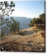 Grand Canyon Rim View Acrylic Print