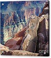 Grand Canyon Roxie Roller Acrylic Print