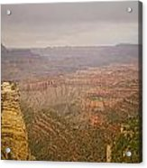Grand Canyon Scenic Overlook View Acrylic Print