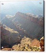 Grand Canyon Sunbeams Acrylic Print