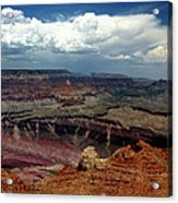 Grand Canyon View - Greeting Card Acrylic Print