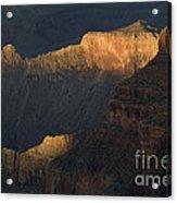 Grand Canyon Vignette 1 Acrylic Print