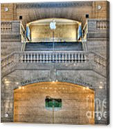 Grand Central Terminal East Balcony I Acrylic Print