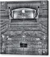 Grand Central Terminal East Balcony II Acrylic Print