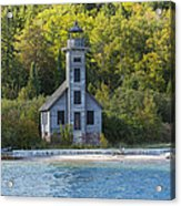 Grand Island E Channel Lighthouse 3 Acrylic Print