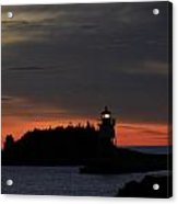 Grand Marais Harbor Sunrise Acrylic Print