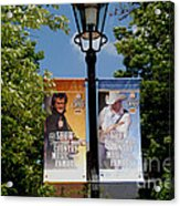Grand Ole Opry Flags Nashville Acrylic Print