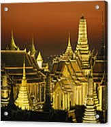Grand Palace And Temple Of The Emerald Acrylic Print