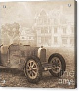 Grand Prix Racing Car 1926 Acrylic Print by Jutta Maria Pusl