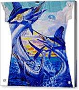 Grand Slam Ladies Shirt Acrylic Print