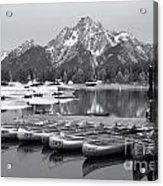 Grand Teton Dawn Iv Acrylic Print