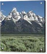 Grand Teton Spring Acrylic Print