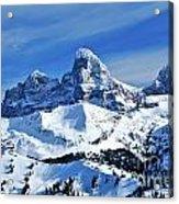 Grand Teton Winter Acrylic Print