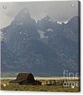 Grand Tetons Jackson Wyoming Acrylic Print