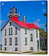 Grand Traverse Lighthouse Acrylic Print