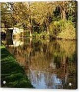 Grand Union Canal Near Denham Acrylic Print