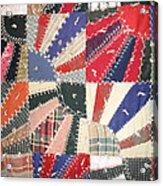 Grandma Baird's Quilt Acrylic Print