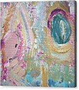 Grandmas Easter Garden Acrylic Print