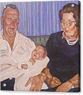 Grandpa And Grandma Acrylic Print