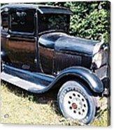 Grandpa's First Car Acrylic Print