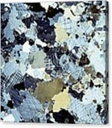 Granite Rock, Light Micrograph Acrylic Print