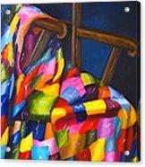 Gran's Quilt Acrylic Print