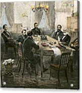 Grants Cabinet, 1869 Acrylic Print