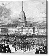 Grants Inauguration, 1873 Acrylic Print by Granger
