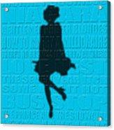 Graphic Marilyn Monroe Acrylic Print