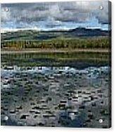 Gravel Lake, North Klondike Highway Acrylic Print