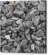 Gravel - Road Metal Acrylic Print