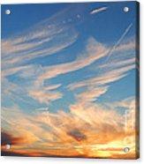 Great Canadian Sunset Acrylic Print