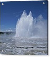 Great Fountain Geyser Seen Acrylic Print