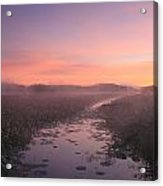 Great Meadows National Wildlife Refuge Dawn Acrylic Print